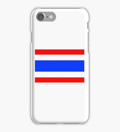 Flag of Thailand iPhone Case/Skin