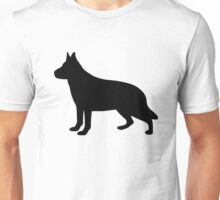 Alsatian Dog Unisex T-Shirt