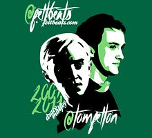 @TomFelton, Draco Malfoy - @feltbeats Womens Fitted T-Shirt