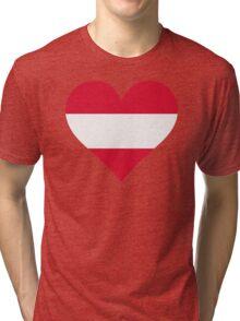 A heart for Austria Tri-blend T-Shirt