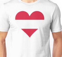 A heart for Austria Unisex T-Shirt