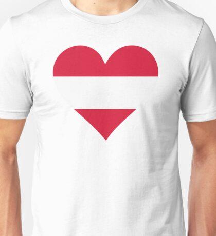 A heart for Austria Unisex T-Shirt