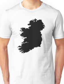 Map of Ireland Unisex T-Shirt