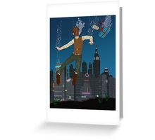 The Impossible City Greeting Card