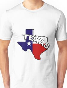 the state of Texas Unisex T-Shirt