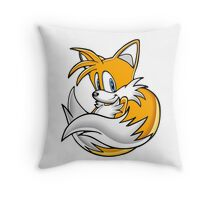 Tails the Fox Throw Pillow