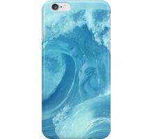 Wave-girl iPhone Case/Skin