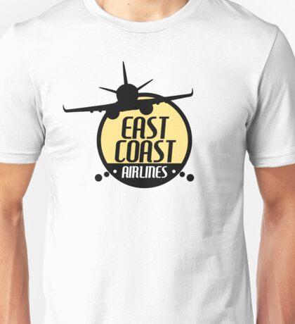 East Coast Airlines - Retro Unisex T-Shirt