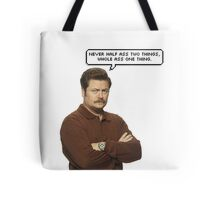 Ron Swanson Tote Bag