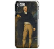Sir Thomas Lawrence, P.R.A. PORTRAIT OF THOMAS LISTER, 1ST BARON RIBBLESDALE iPhone Case/Skin