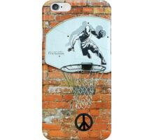 Playing With Peace iPhone Case/Skin