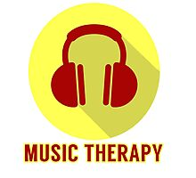 Music Therapy Photographic Print