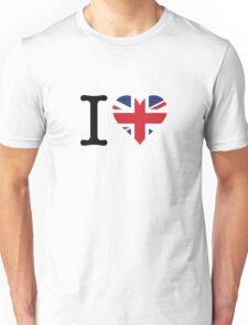 I love the United Kingdom Unisex T-Shirt