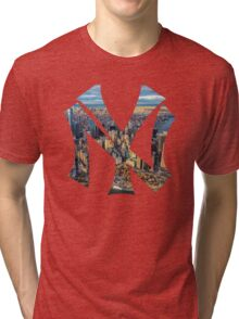 New York White edition Tri-blend T-Shirt