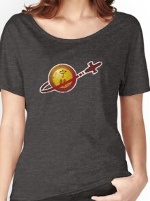 Serenity Logo (Lego Classic Space Homage) Women's Relaxed Fit T-Shirt