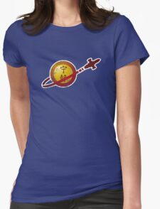 Serenity Logo (Lego Classic Space Homage) Womens Fitted T-Shirt