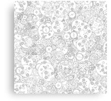 Clockwork B&W Canvas Print