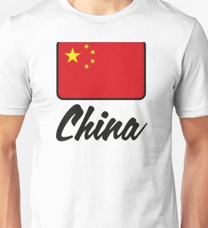 National Flag of China Unisex T-Shirt