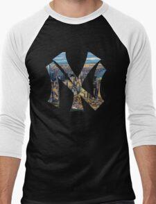 New York Black edition Men's Baseball ¾ T-Shirt