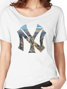 New York Black edition Women's Relaxed Fit T-Shirt