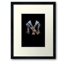 New York Black edition Framed Print