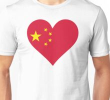 A heart for China Unisex T-Shirt