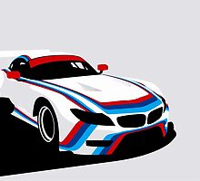 BMW Z4 GTLM CSL Tribute 2015 Rahal Letterman Lanigan Race Car by F1Profiles