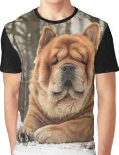 Chow portrait Graphic T-Shirt