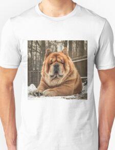 Chow portrait Unisex T-Shirt