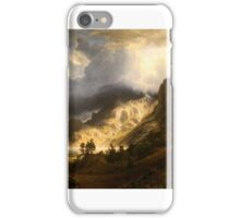 WLA_brooklynmuseum_A_Storm_in_the_Rocky_Mountains iPhone Case/Skin