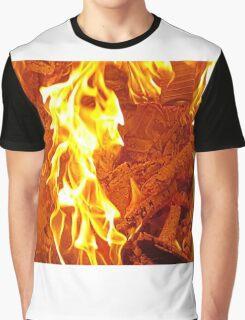 Dance Fire Woman Graphic T-Shirt
