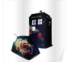 The Tardis and K9 Poster