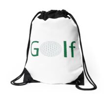 Golf ball Drawstring Bag