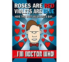 DOCTOR WHO VALENTINE CARD 1 Photographic Print
