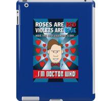 DOCTOR WHO VALENTINE CARD 1 iPad Case/Skin
