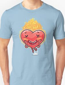 Cute Burning Heart for Valentine's Day T-Shirt