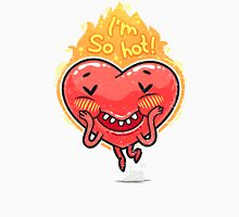Cute Burning Heart for Valentine's Day Unisex T-Shirt