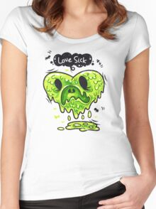 Love Sick Women's Fitted Scoop T-Shirt