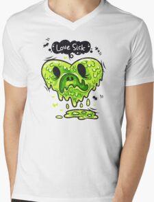 Love Sick Mens V-Neck T-Shirt