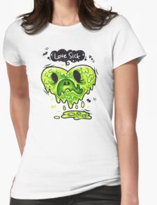 Love Sick Womens Fitted T-Shirt