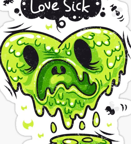 Love Sick Sticker