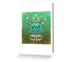 Cute Wild Love Monster Greeting Card