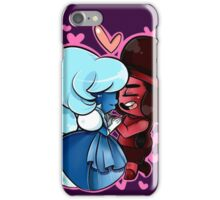 Love Wins: Ruby and Sapphire iPhone Case/Skin