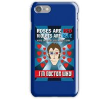 DR WHO VALENTINES 6 iPhone Case/Skin