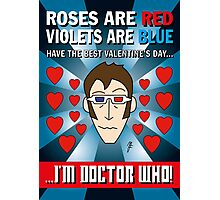 DR WHO VALENTINES 6 Photographic Print