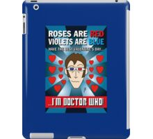 DR WHO VALENTINES 6 iPad Case/Skin