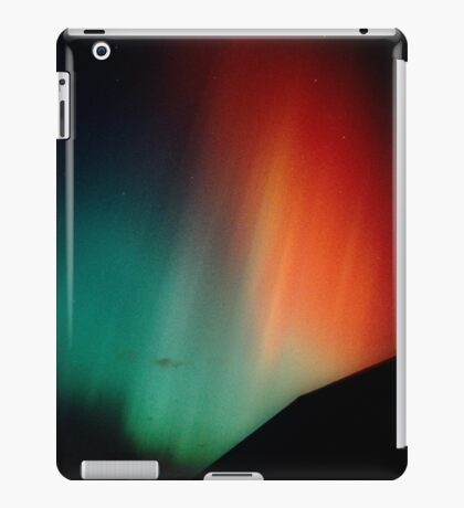 Intense red & green aurora iPad Case/Skin