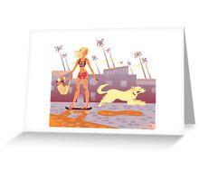 Seventies Greeting Card