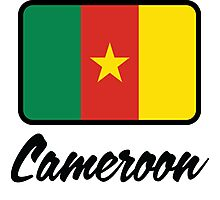 National Flag of Cameroon Photographic Print