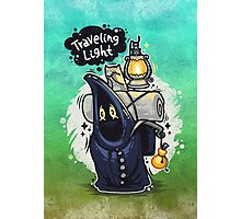Traveling Light Cartoon Character Photographic Print